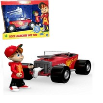 Fisher-Price Alvin and the Chipmunks Sock Launchin' Hot Rod - gift set - $19.79