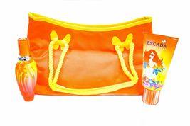 Escada Sunset Heat Perfume 1.6 Oz Eau De Toilette Spray 3 Pcs Gift Set image 6