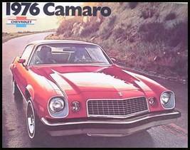 1976 Chevy Camaro Dealer Sales Brochure, Orig GM MINT! - $6.14