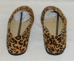 Anna Truman 1 Loepard Print Suede Womens Flats Size 6 And Half image 5