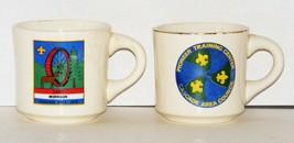 Vintage BSA - 2 Cascade Council Coffee Mugs 1978 - $10.00