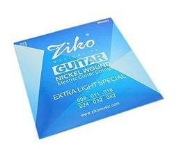 Nickel Wound Electric Guitar Strings, 6 Strings, Slinky Guitar Strings (09-42)