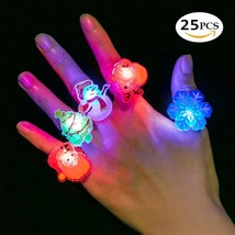 Christmas Gifts Light Up Toys LED Finger Lights Rings Party Favors Light... - $25.07