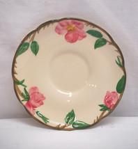 Old Vintage Desert Rose TV Backstamp USA by Franciscan Saucer Plate Pink... - $8.90
