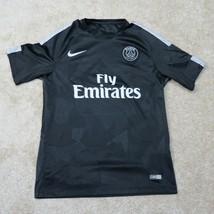 Nike Paris Saint-Germain 2017 Womens L Large Black Third Jersey Dri-Fit ... - $68.95