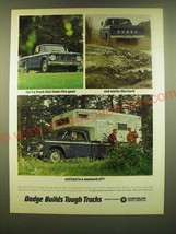 1966 Dodge Camper Special Pickup Truck Ad - Isn't a truck that looks this good  - $14.99