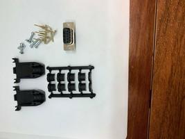 NEW DB9 connector parts: 9 receptacle + 22 plug crimp contact and black ... - $61.38