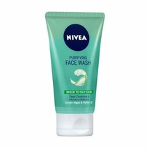 2 Pack Nivea Purifying Deep Cleansing & Moisture Balance Face Wash 150ml  - $19.57