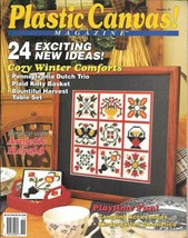 Plastic Canvas Magazine - Number 23 - Nov/Dec 1992 Needlepoint - 24 Proj... - $10.00