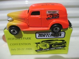 Matchbox 1996 Hershey Toy Show 1939 Chevy Sedan Delivery Van New In Mint Box* - $8.90