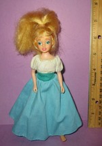 """Vintage Don Bluth Thumbelina 6.5"""" Poseable Fairy 1993 Dressed Doll HTF - $40.00"""