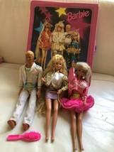 1993 Barbie Rockers Case  191 Sensation Ken, 1992 Hollywood Hair Barbie ... - $59.99