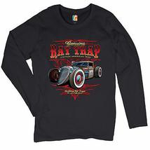Genuine Rat Trap Women's Long Sleeve T-shirt Route 66 Hot Rod Old School - $17.57+
