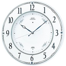 Seiko Clock Clock Wall Clock Premium Radio Clock Twin -Pas Swarovski Crystal Orn - $268.34