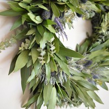 "Bay and Thistle Wreath - 24"" - €79,77 EUR"