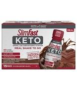 SlimFast Keto Ready-To-Drink Chocolate (15 pk.) - $49.45