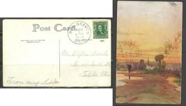 1908 New Bremen Ohio August 5 picture postcard - $4.00