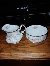Paragon creamer and sugar bowl England - $44.87