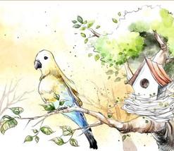 3D Ink Painting Bird art 0671 Wall Paper Wall Print Decal Wall Deco AJ W... - $37.39+