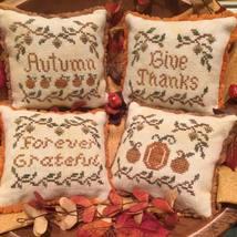 Autumn Whimsies fall cross stitch chart Scissor Tail Designs  - $8.10