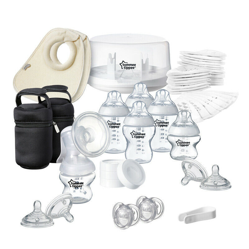 Tommee Tippee Closer to Nature Microwave Steriliser & Manual Breast Pump - $153.45