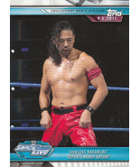 Shinsuke Nakamura 2019 Topps WWE Road To Wrestlemania Card #55 - $0.99