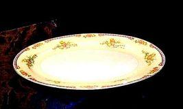 MeitoChina Hand PaintedServing Platter (Tray) AA18-1193M Vintage Large image 3