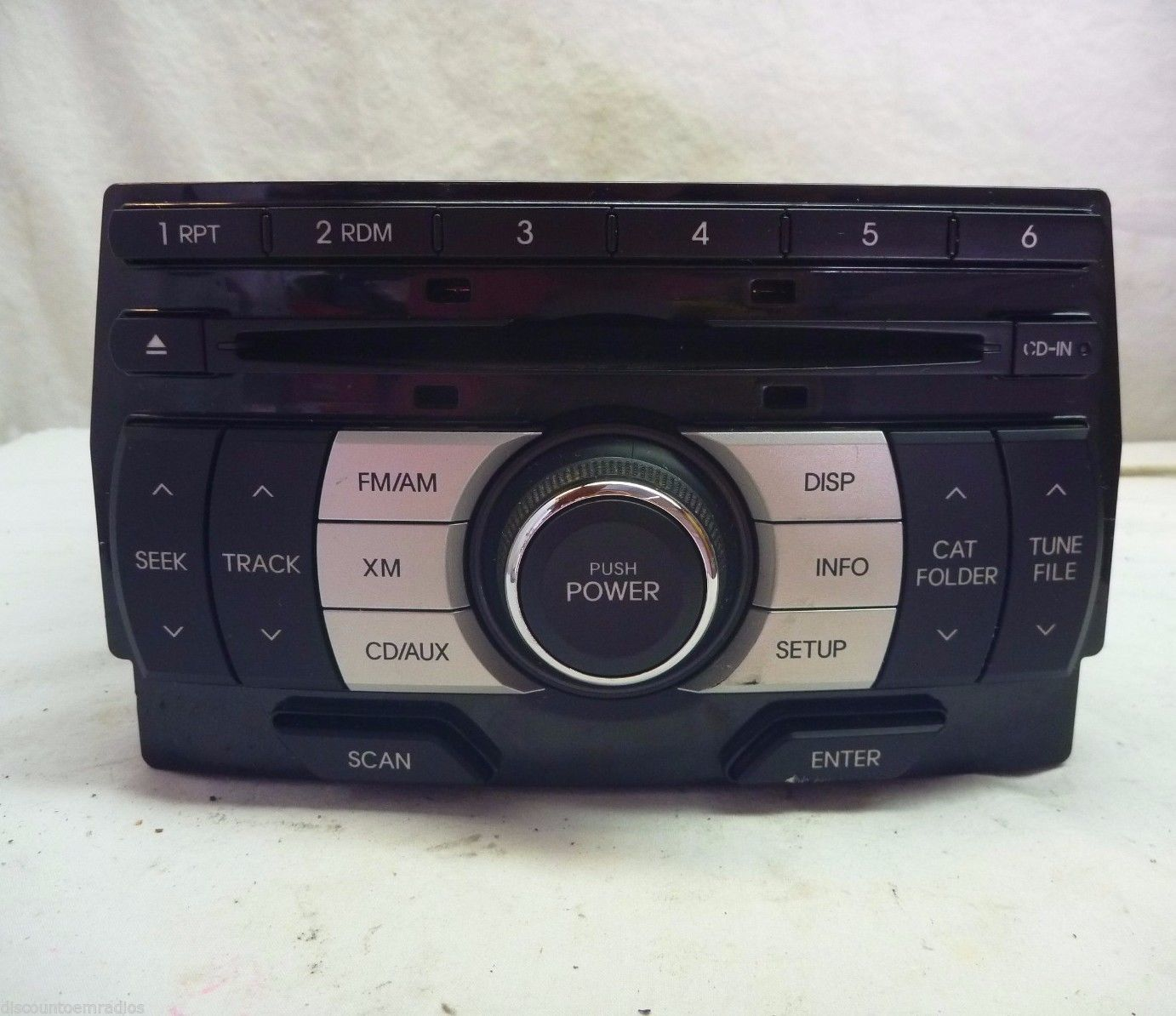 09 10 11 12  Hyundai Genesis Radio Cd Player 96180-2M110AMS4  BJ1919