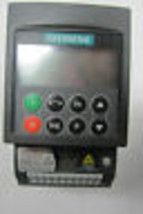 USED SIEMENS 6SE6410-2BB12-5AA0 DRIVE WITH OPERATOR INTERFACE 6SE64102BB... - $505.76