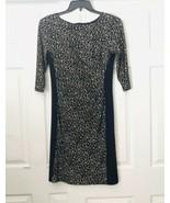 Ralph Lauren Animal Print Slimming Silhoette Dress Size 8 - $24.75