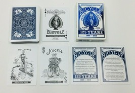 Deck of Bicycle Anniversary Edition 125 Years 1888 - 2010 - Complete  - $9.49