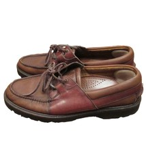 Cole Haan Country Mens Brown Leather Lace-Up Tie Oxford Casual Shoes 9 - $28.71