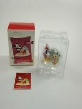 Hallmark 2003 Disney Christmas Ornament - Home Bright Home Mickey & Pluto w/Box - $12.34
