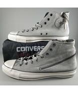 Converse X John Varvatos Tornado Zip Hi Shoes Size 13 Mens Sneakers Gray... - $140.24