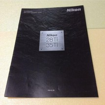 Nikon 28Ti 35Ti catalog compact camera coffee table book photo film - $40.58