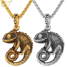 New Statement Necklace For Men Chain Kpop Jewelry Gold Color Stainless S... - $15.83+
