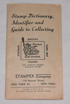 Stamp Dictionary Identifier and Guide to Collecting by Stampex Free Ship... - $8.55