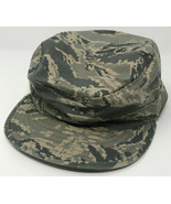 Air Force Camo Hat Utility Cap Size 7-1/4 Sekri Industries SPM1C1-13-D-N0 - $10.77