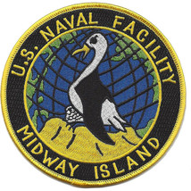 U.S. Naval Facility Midway Island patch @ NEW!!! @ - $11.87