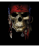 Pirate Skull 16x20 Poster Print Art Best Images Hot New Pirates Of The C... - $12.09