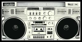 "5.75"" Classic 80's Boom Box vinyl sticker. Metal, Rock, Hip-Hop decal fo... - $2.92"