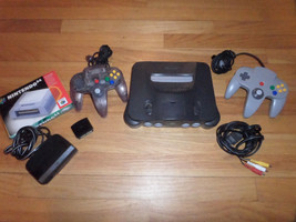 CL/NINTENDO 64/N64 CONSOLE/2 CONTROLLERS/EXPANSION PACK/TESTED/CLEAN/WORKS Great - $148.45