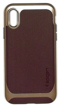 Spigen Neo Hybrid case for iPhone X Shockproof dual layer cover-used - $4.95