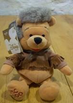 "DISNEY STORE WINNIE THE POOH FRONTIER BEAR 8"" Stuffed Animal TOY NEW w/ TAG - $14.85"