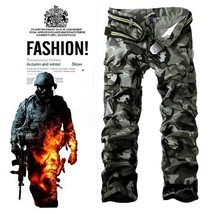 Men's Casual Pants Sports Pants Camouflage pants - $48.96