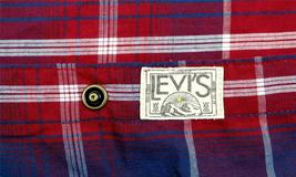 Levi's Men's Long Sleeve Button Up Casual Dress Shirt Red 3LYlW0042 image 5