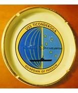 USS Ticonderoga Souvenir Ashtray Guardian of Freedom Osborne Kemper Thom... - $24.10 CAD