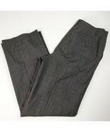 Ann Taylor Career Dress Pants Gray Wool Blend Size 10 - $14.96