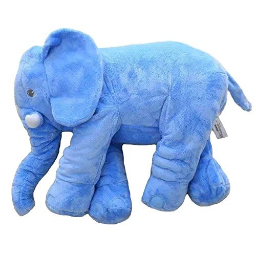 Rainbow Fox Grey Elephant Stuffed Animals Plush Toy Animals Toys Blue image 2