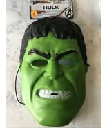 Childrens Halloween Mask, Hulk, Marvel, Avengers, New, 6+ - $9.99